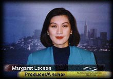 Margaret Lacson: executive producer/anchor of the Filipino American Report